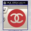 Chanel CR2 Decal Sticker Red 120x120