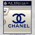 Chanel Full Decal Sticker Blue Vinyl 120x120