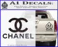 Chanel Full Decal Sticker Carbon FIber Black Vinyl 120x97