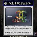 Chanel Full Decal Sticker Glitter Sparkle 120x120