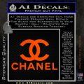 Chanel Full Decal Sticker Orange Emblem 120x120