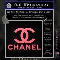 Chanel Full Decal Sticker Pink Emblem 120x120