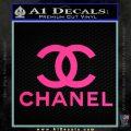 Chanel Full Decal Sticker Pink Hot Vinyl 120x120