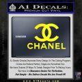 Chanel Full Decal Sticker Yellow Laptop 120x120