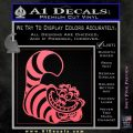 Cheshire Cat D2 Decal Sticker Pink Emblem 120x120