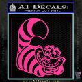 Cheshire Cat D2 Decal Sticker Pink Hot Vinyl 120x120