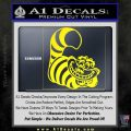 Cheshire Cat D2 Decal Sticker Yellow Laptop 120x120