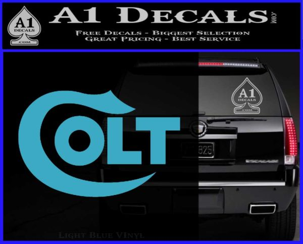 Colt Firearms Decal Sticker  A Decals - Colts custom vinyl decals for car