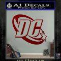 DC Comics Logo Decal Sticker DRD Vinyl 120x120