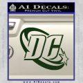 DC Comics Logo Decal Sticker Dark Green Vinyl 120x120
