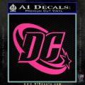 DC Comics Logo Decal Sticker Pink Hot Vinyl 120x120