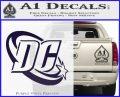 DC Comics Logo Decal Sticker PurpleEmblem Logo 120x97