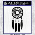 Dream Catcher D2 Decal Sticker Black Vinyl 120x120