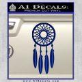 Dream Catcher D2 Decal Sticker Blue Vinyl 120x120