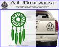 Dream Catcher D2 Decal Sticker Green Vinyl Logo 120x97