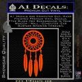 Dream Catcher D2 Decal Sticker Orange Emblem 120x120