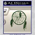 Dream Catcher Decal Sticker Dark Green Vinyl 120x120