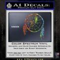 Dream Catcher Decal Sticker Glitter Sparkle 120x120
