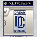Dream Chasers Logo Meek Mill Decal Sticker Blue Vinyl 120x120
