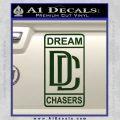 Dream Chasers Logo Meek Mill Decal Sticker Dark Green Vinyl 120x120