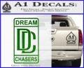 Dream Chasers Logo Meek Mill Decal Sticker Green Vinyl Logo 120x97