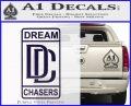 Dream Chasers Logo Meek Mill Decal Sticker PurpleEmblem Logo 120x97