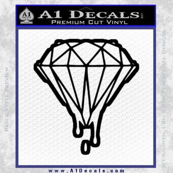 Drippin Diamond: Dripping Diamond D2 Decal Sticker » A1 Decals