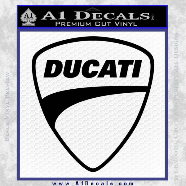 Ducati Motorcycle Decal Sticker DH A Decals - Ducati motorcycles stickers