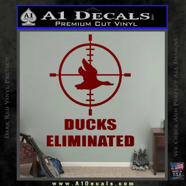 ducks unlimited coloring pages - ducks unlimited decal sticker eliminated a1 decals