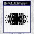 EMS Decal Sticker Wide Black Vinyl 120x120