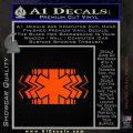 EMS Decal Sticker Wide Orange Emblem 120x120
