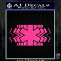 EMS Decal Sticker Wide Pink Hot Vinyl 120x120