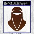 Emperor's Royal Guard Decal Sticker BROWN Vinyl 120x120