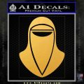 Emperor's Royal Guard Decal Sticker Gold Vinyl 120x120