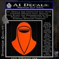 Emperor's Royal Guard Decal Sticker Orange Emblem 120x120