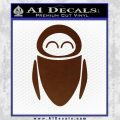 Eve from Wall e D1 Decal Sticker BROWN Vinyl 120x120