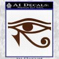 Eye of Horus Decal Sticker Rah BROWN Vinyl 120x120