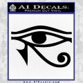 Eye of Horus Decal Sticker Rah Black Vinyl 120x120