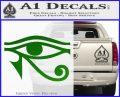 Eye of Horus Decal Sticker Rah Green Vinyl Logo 120x97