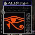 Eye of Horus Decal Sticker Rah Orange Emblem 120x120