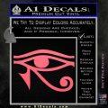 Eye of Horus Decal Sticker Rah Pink Emblem 120x120