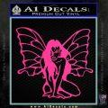 Fairy Girl Decal Sticker Pink Hot Vinyl 120x120
