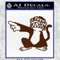 Family Guy Evil Monkey Decal Sticker BROWN Vinyl 120x120