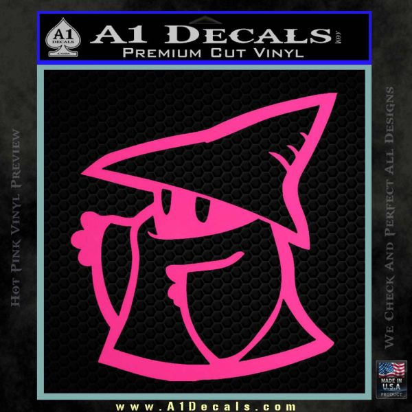 Final Fantasy Decal Sticker Black Mage A1 Decals