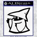 Final Fantasy Decal Sticker Black Mage 2Pk 2 120x120