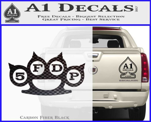 Five Finger Death Punch Decal For Car Laptop Yeti Choose Color Die Cut Vinyl Ebay
