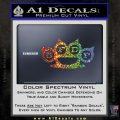 Five Finger Death Punch Decal Sticker 5FDP Glitter Sparkle 120x120