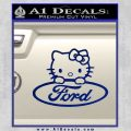 Ford Hello Kitty Full Decal Sticker Blue Vinyl 120x120