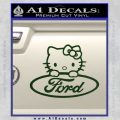 Ford Hello Kitty Full Decal Sticker Dark Green Vinyl 120x120