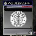 Forever Metal Decal Sticker Starbucks Gloss White Vinyl 120x120